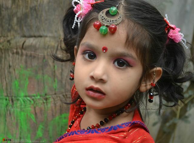 Twinkle of her eyes.....