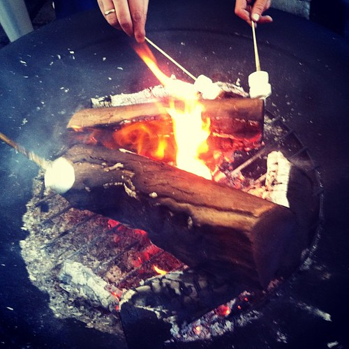 Let there be MARSHMALLOW! #mothersday #autumn #fire