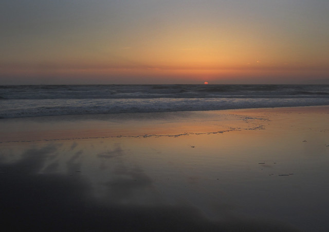 Sunset on Ocean Beach, San Francisco (2012)