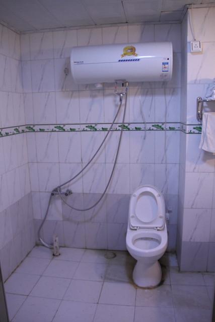 恐ろしく汚いお風呂場
