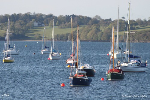 Trelissick, from Mylor by Stocker Images