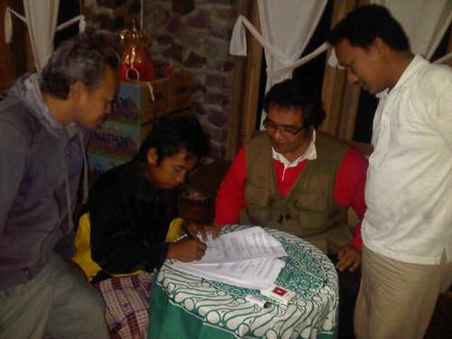tanda tangan kerjasama