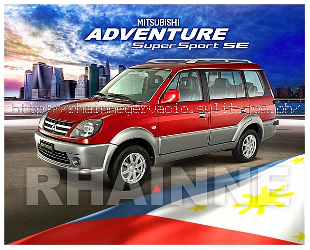 ALL NEW MITSUBISHI ADVENTURE SUPER SPORT SE DSL M/T 7SEATER