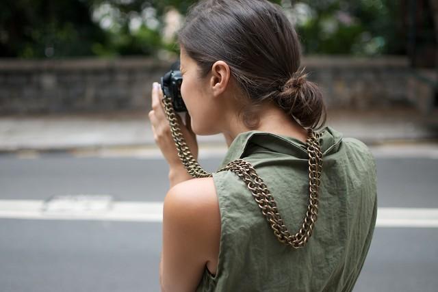 diy chain camera strap 3