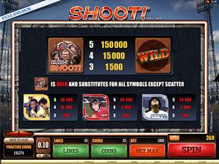 free Shoot slot payout