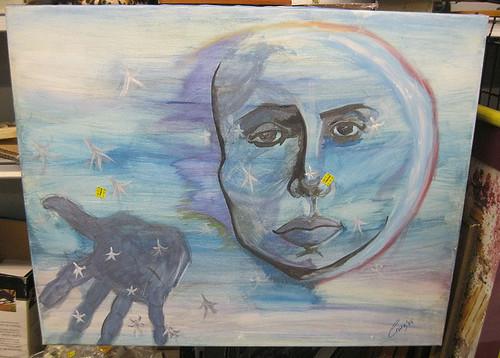 The moon-people send their greetings.