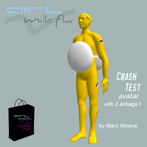 Crash test avatar_AIRE art freebies store