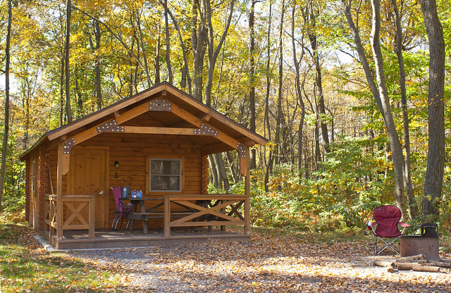 A Camping Cottage At French Creek State Park Flickr