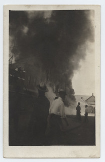 [Fire in Electra, Texas]