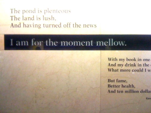 Poety in Penn Station