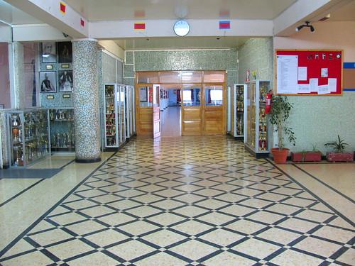 Hall del Liceo San José
