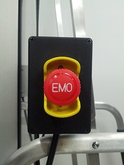 The big red #EMO button, for depressed equipment