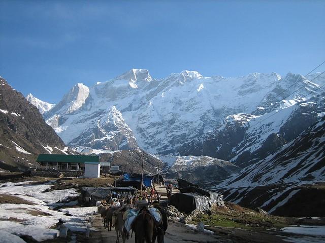 Kedarnath - trek back to Gaurikund