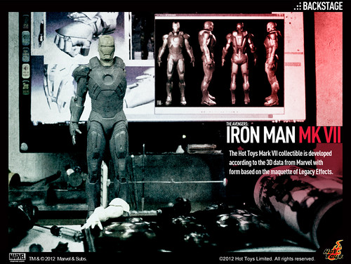 Hot Toys -  Iron Man Mark VII teaser
