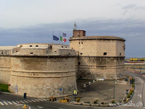 Forte Michelango in Civitavecchia