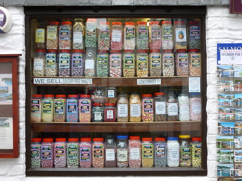 A brilliant sweet shop in Polperro