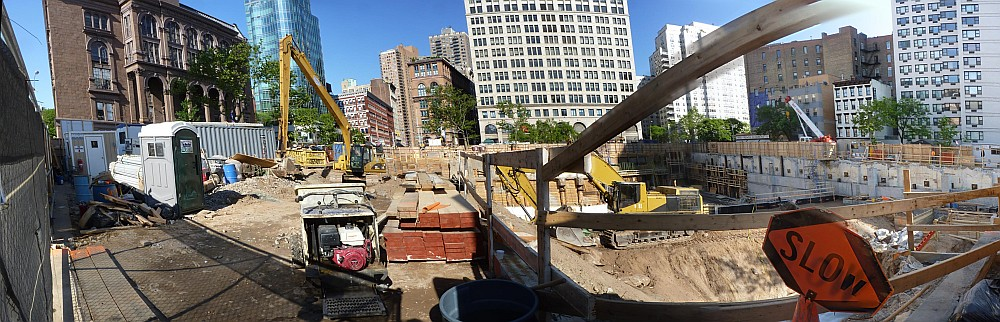 Astor Construction Pano