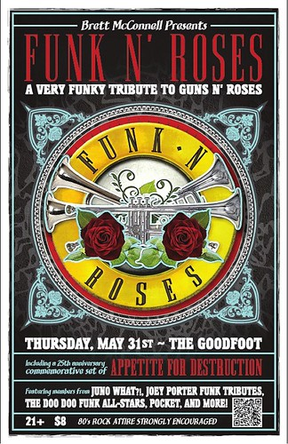 Funk N' Roses @ The Goodfoot