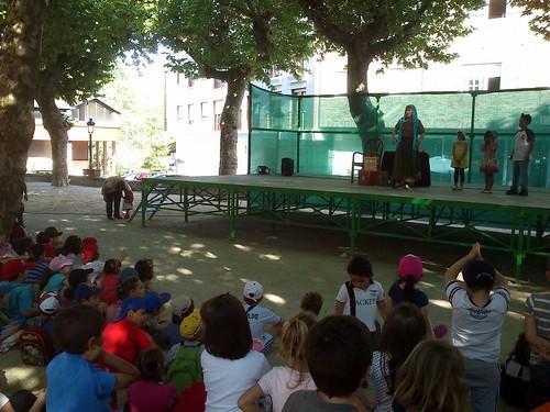 Contacontos Soñadora das Árbores en Pontecaldelas
