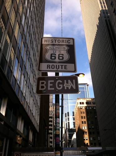 Beginning of Route 66: Chicago, IL