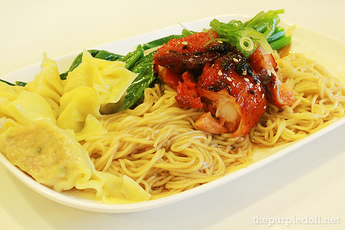 Honey BBQ Chicken Noodles P168