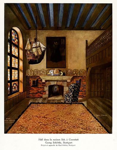 002-120 intérieurs en couleurs…-Principios siglo XX