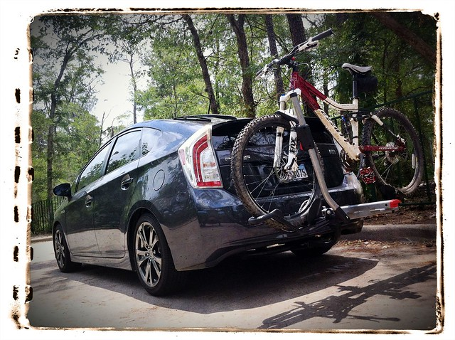 Yakima Holdup 2 >> Bike rack Prius V (leased so probably not a hitch) (MPG, mileage) - Toyota, Lexus, and Scion ...