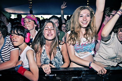 Pinkpop 2012 mashup foto - Enthousiast!
