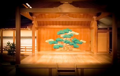 Le pin de Kanze Kaikan 京都観世会館の松- 03