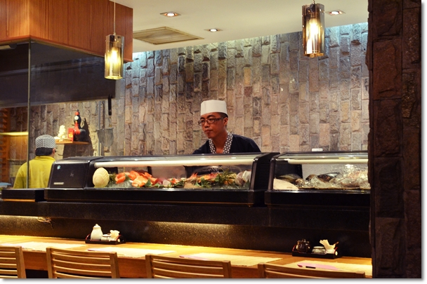 Sushi Bar @ Jyu Raku