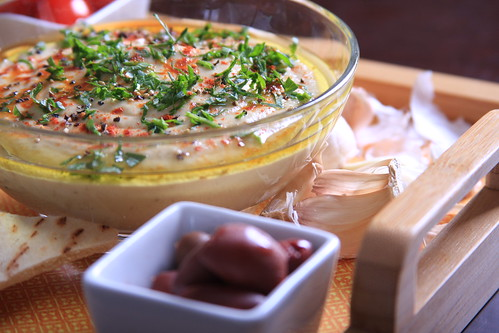 Smoky Baba Ghanoush with Roasted Garlic