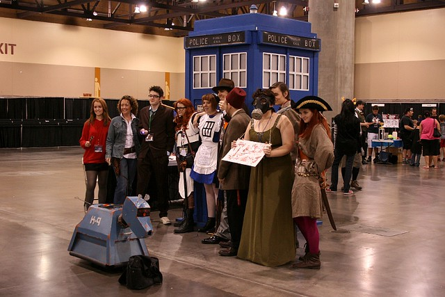 Phoenix Comicon - Doctors and Companions