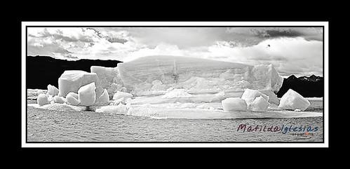 GlaciersARG_Panorama1bw