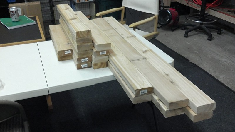 All boards cut to length