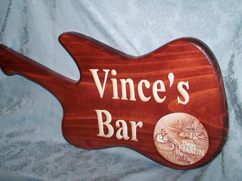Vince's Bar Sign