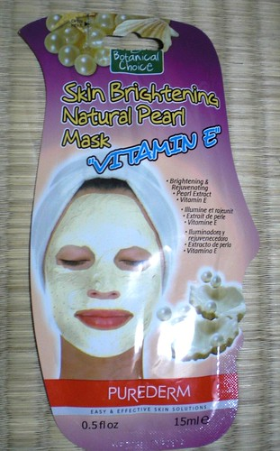 Botanical Choice Skin Brightening Natural Pearl Mask by KitaRei