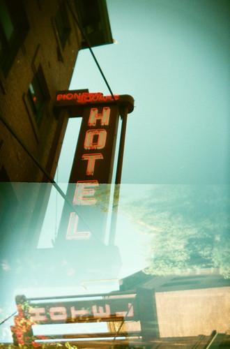 Pioneer Square Hotel - holga by Lady Miss Elle