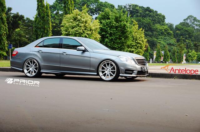 Prior design w212 e class mercedes benz aerodynamic kit for Mercedes benz e550 amg