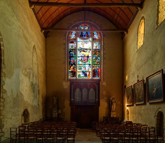 Notre Dame En Saint Melaine Flickr Photo Sharing