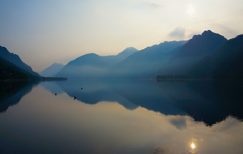 Lago d'Idro in the morning