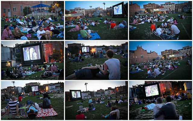 Screen on the Green - Watching TV/films on the big screen in Washington D.C.