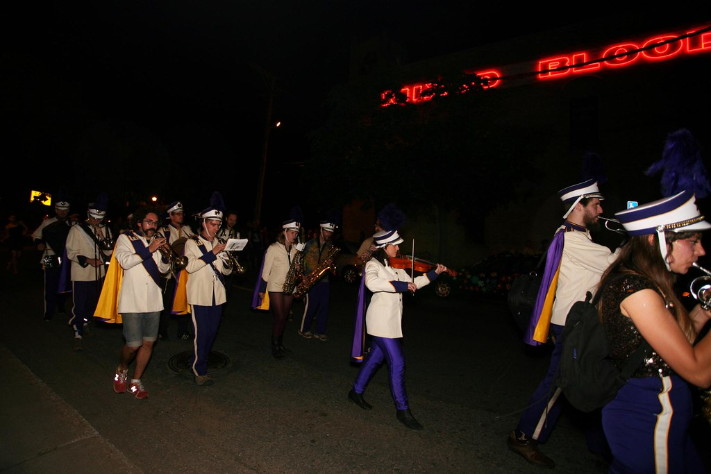Marching Band on the West Bank