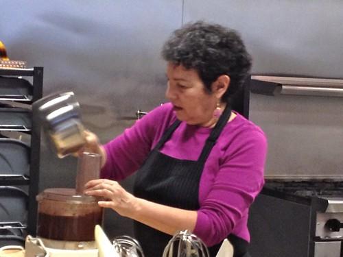 Making amazing chocolate mousse recipe