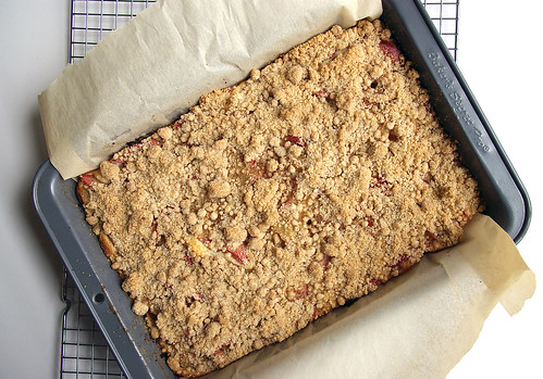 Rhubarb Snacking Cake from the Oven II
