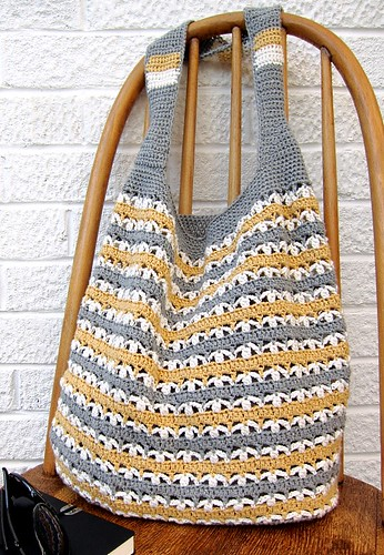 Slouchy market tote
