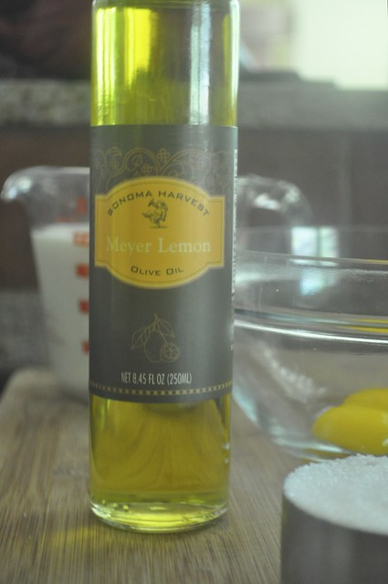 Meyer Lemon Olive Oil Ice Cream Ingredients