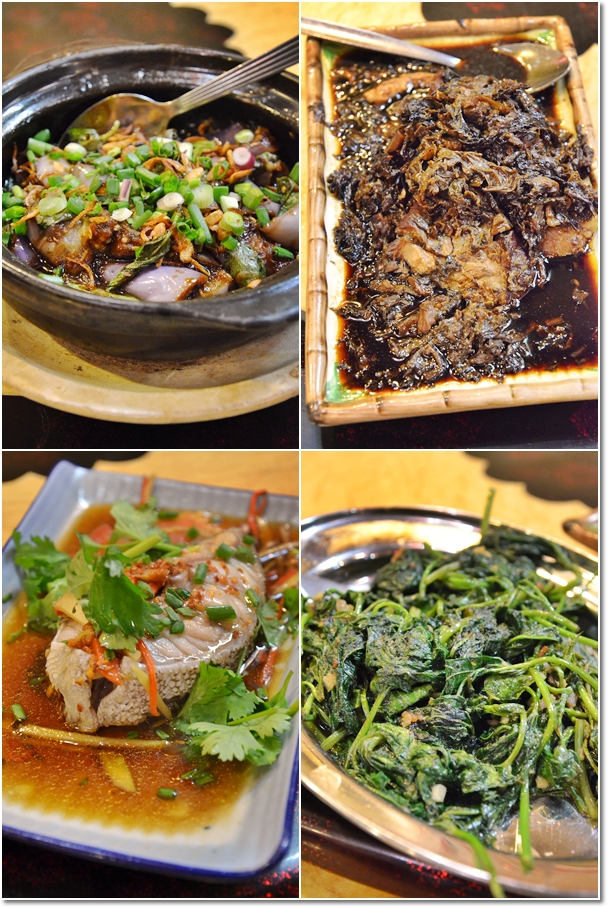 Hakka Dishes @ Hakka Zhan Restaurant