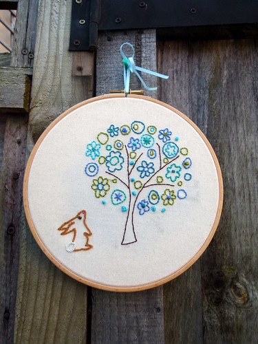A little stitching for a lovely friend :o)