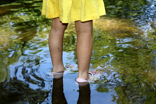 Girl-in-skirt