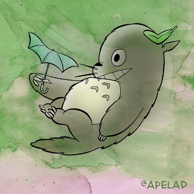 Totoro, Twitter Avatar